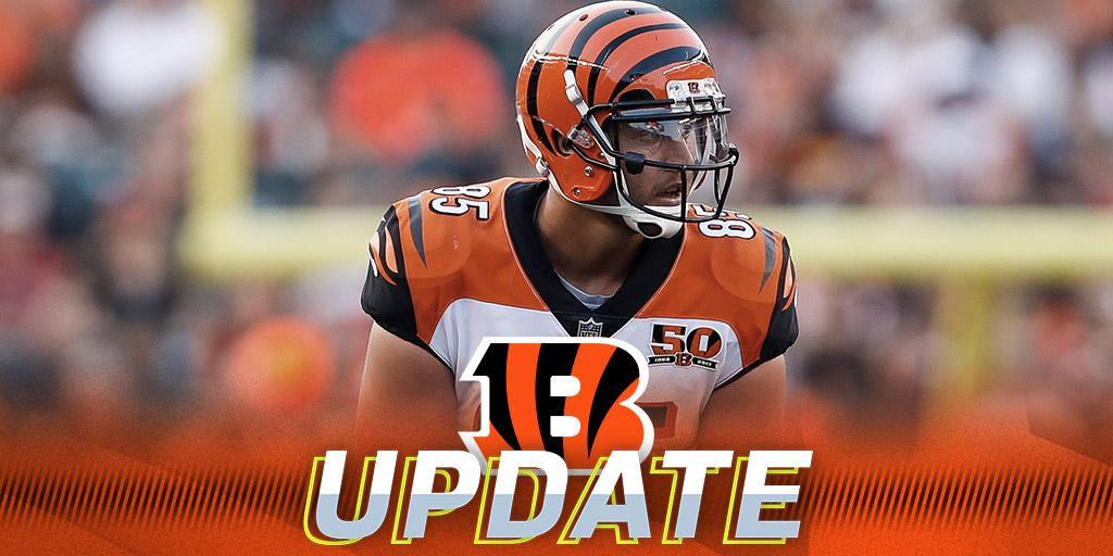 Bengals TE Tyler Eifert to undergo season-ending surgery: https://t.co/LoMMu4JhoE https://t.co/oMTQljF7rD