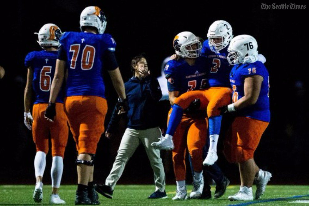 test Twitter Media - Eastside Catholic quarterback Zach Lewis will miss the rest of the season with a broken ankle.  https://t.co/cYacthF6fk https://t.co/B5lYbKGaaU