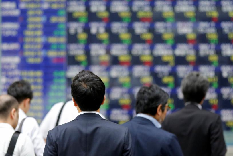 Asia stocks reach 10-year peak on global equity surge, dollar sags