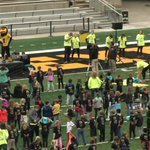 Kids have fun, learn how to stay healthy at at Kinnick Stadium