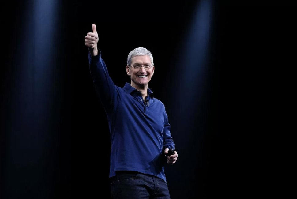 Tim Cook is optimistic about social progress https://t.co/gVyml1q2EN https://t.co/1pAAL9Xrnu