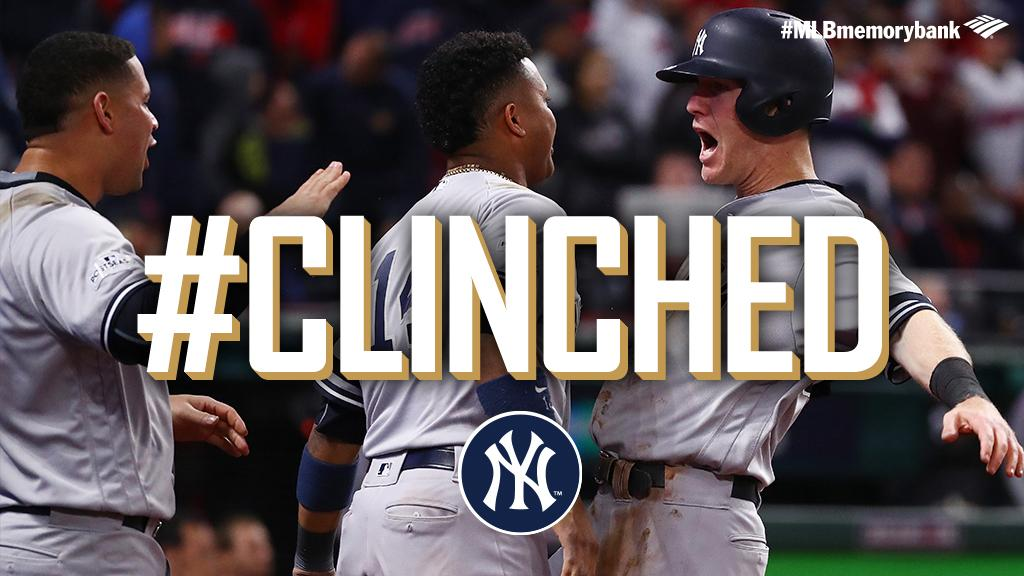 Daaamn, @Yankees.  Yanks rally from 2-0 #ALDS hole, advance to #ALCS: https://t.co/jlAXRMSJN7 #CLINCHED https://t.co/BRGmhUW9BJ