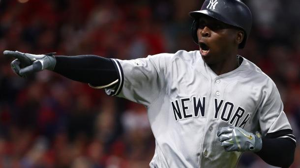 RECAP: Didi Gregorius homers twice, powering Yankees into ALCS with 5-2 win over Indians https://t.co/xuShjMWfnQ https://t.co/Fsj0mrGv0m