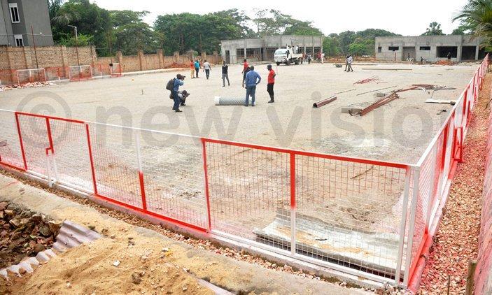 Bayern fans, Proline construct sh4b football pitch