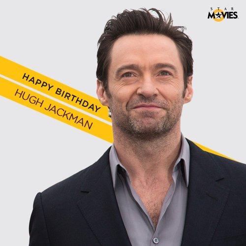 Happy birthday to the muscular heart-throb, Hugh Jackman!