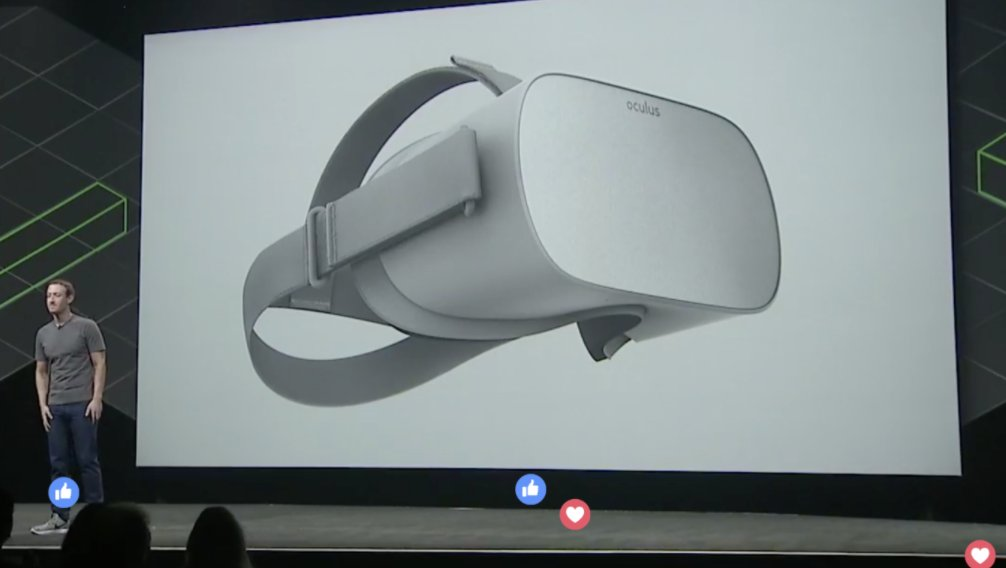 Oculus announces $199 'Oculus Go' standalone headset https://t.co/jJtboG4Ov9 https://t.co/Oodz9Phunc