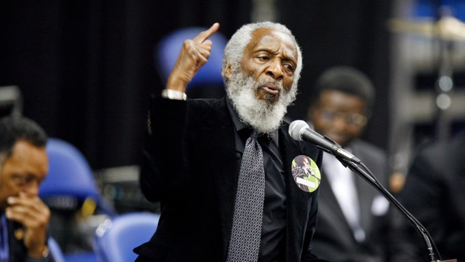 Happy Birthday to Dick Gregory who would have turned 85 today!