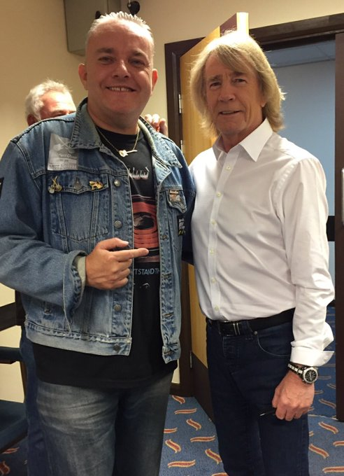 Happy birthday Rick Parfitt expect you will be up there,having a few with Lemmy and the gang