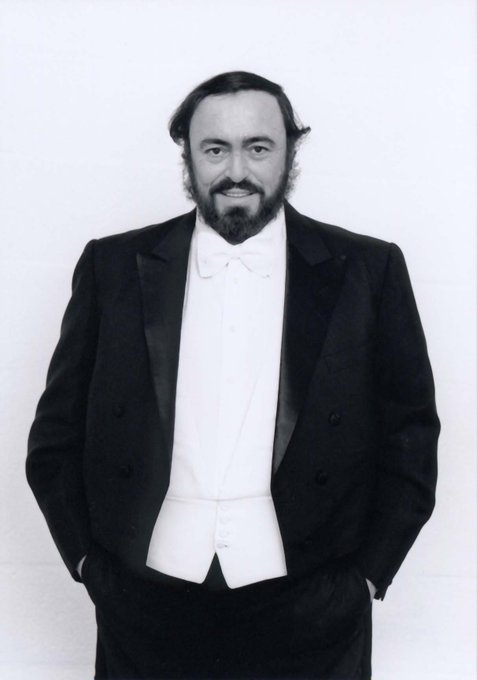 Happy birthday, Luciano Pavarotti!