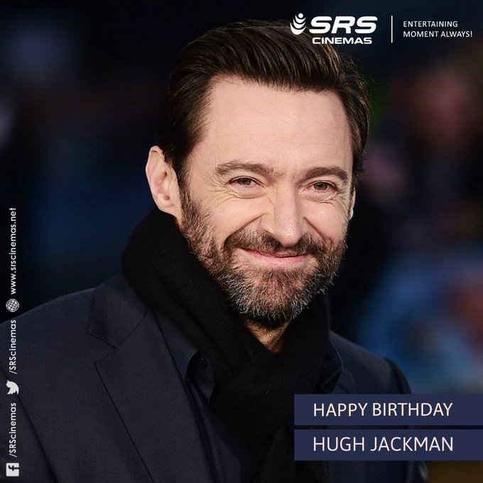 A very Happy Birthday, Hugh Jackman.