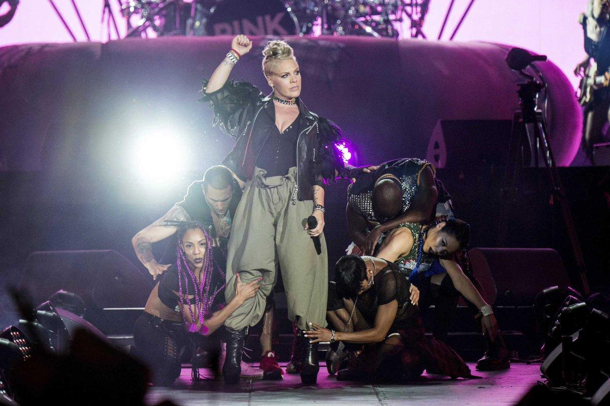 Pink announces second Houston show