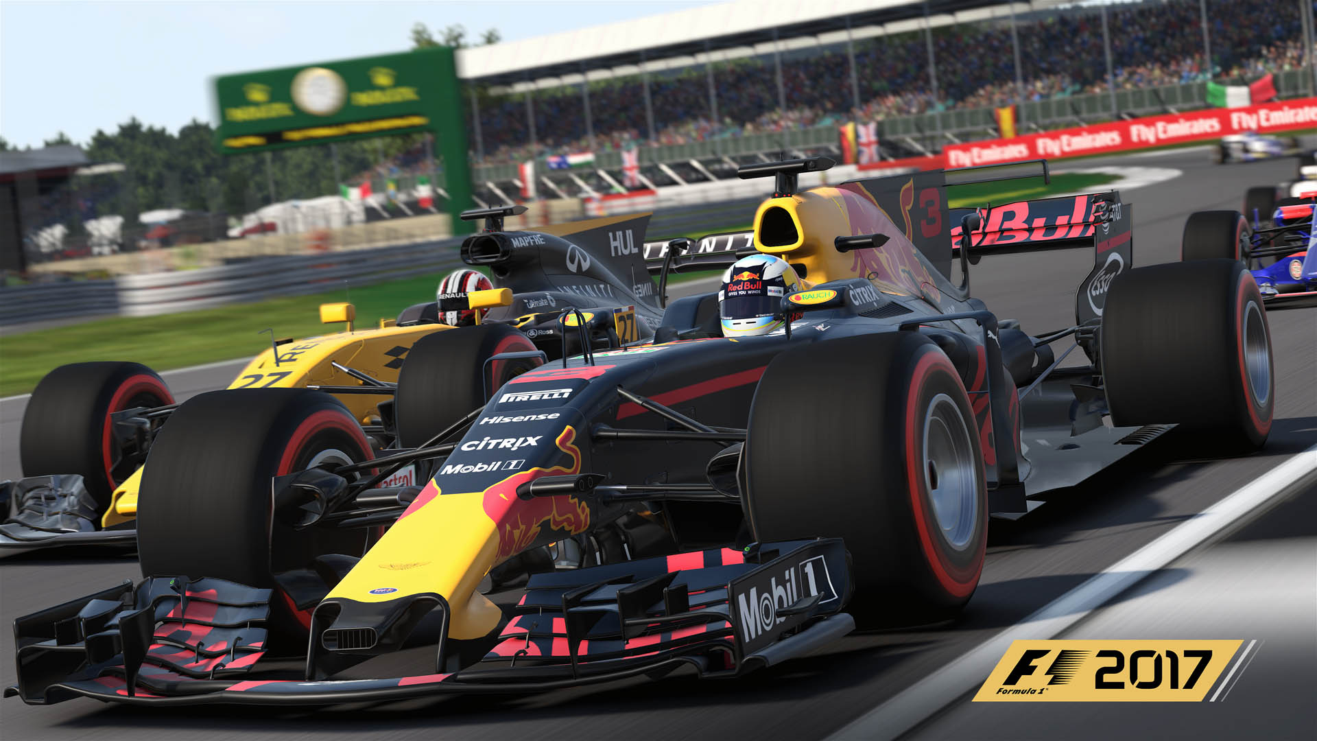 Liveries on point ���� The details that make #F12017 so lifelike �� https://t.co/2EewNd8cpp #F1 https://t.co/LhULvsOd5G