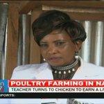 Teacher turns to chicken farming to earn a livelihood in Narok
