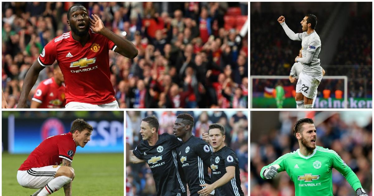 Manchester United player ratings so far this season