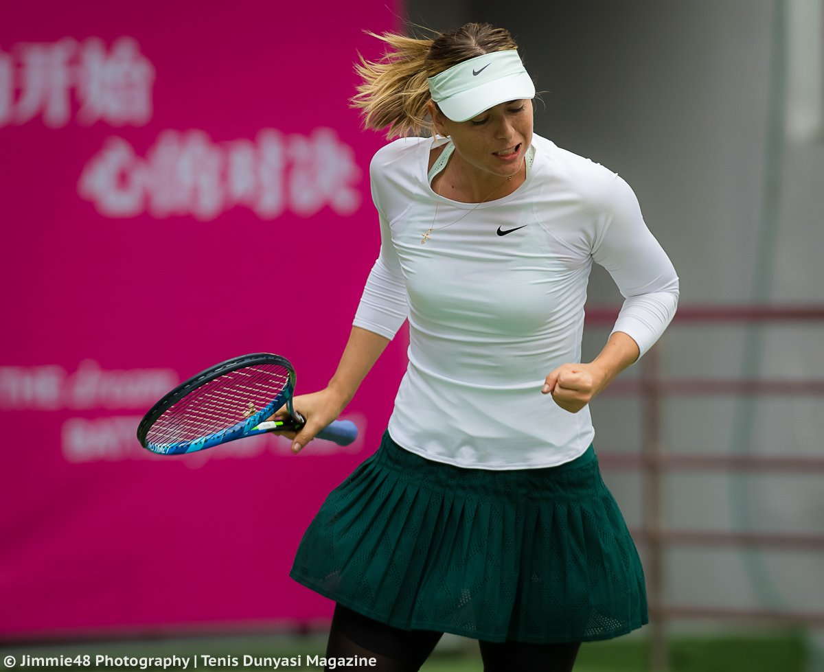 RT @JJlovesTennis: Intensity: @MariaSharapova moves into the @TianjinOpen QF with another straight set win https://t.co/1YwbWMerd0