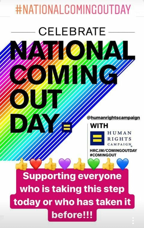 #ComingOutDay