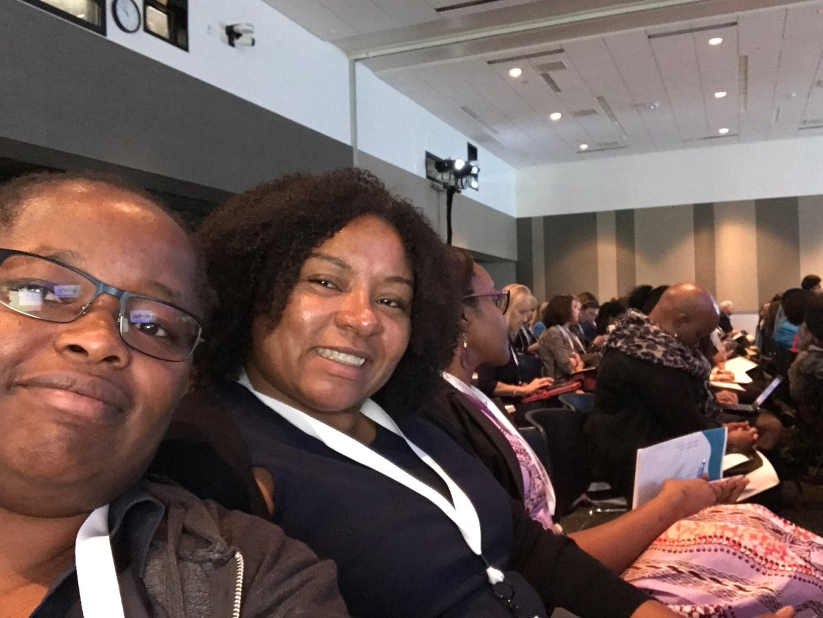 RT @judywawira: 7 years later and reunited by #global health with @apriljbell #WLGH17 https://t.co/EBwDf8pLMN