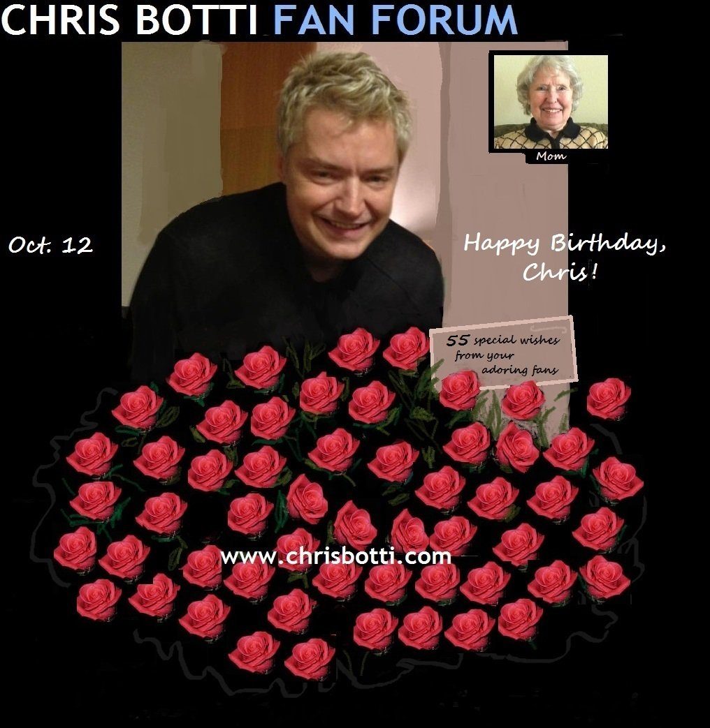 HAPPY BIRTHDAY, Chris Botti! From your Chris Botti Fan Forum!