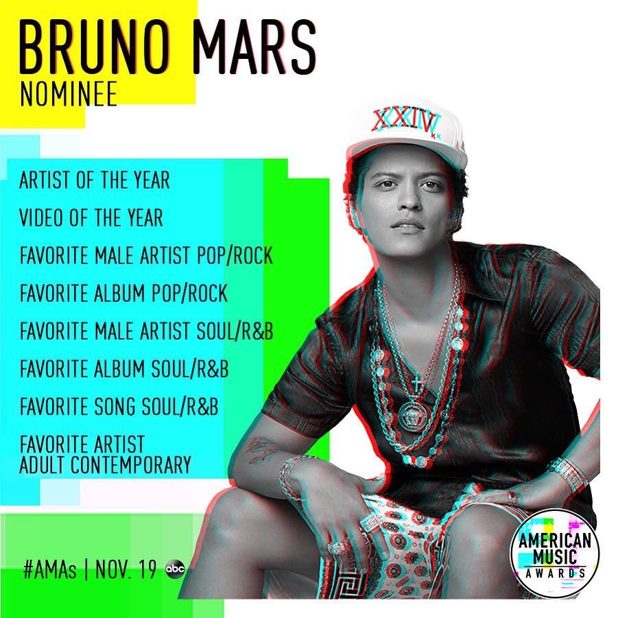 Thank you @AMAs and thank you to all my Hooligans voting right now. This album is for us! 🍓🥂