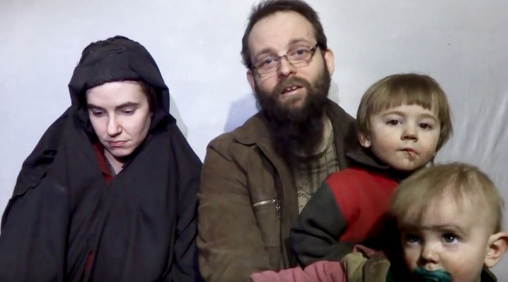 Family held captive by Taliban-linked group released  (Taliban media/Youtube/MGN) https://t.co/jGRx0DBxSn https://t.co/wXdrhUiZFr