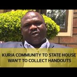 Kuria community visit to State House wasn't to collect handouts