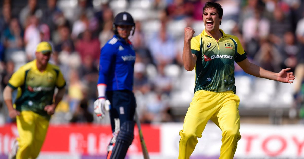 """""""Hope you practise your bouncers"""" - Australia fast bowler Pat Cummins fires down stark warning to England's batsmen ahead of this winter's Ashes series"""