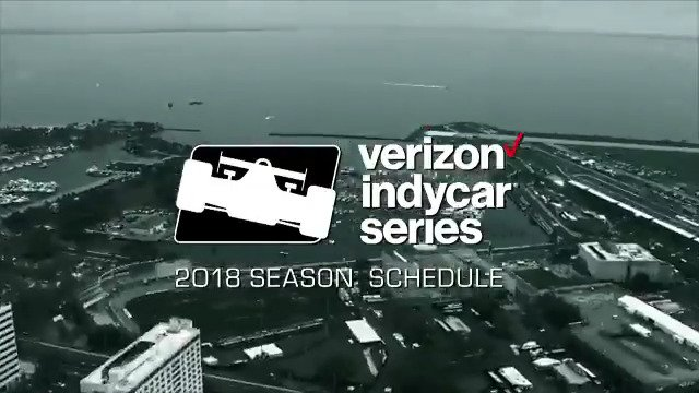 Here it is! The #INDYCAR2018 schedule is out! Which event are you most excited for? https://t.co/exWD2quotq