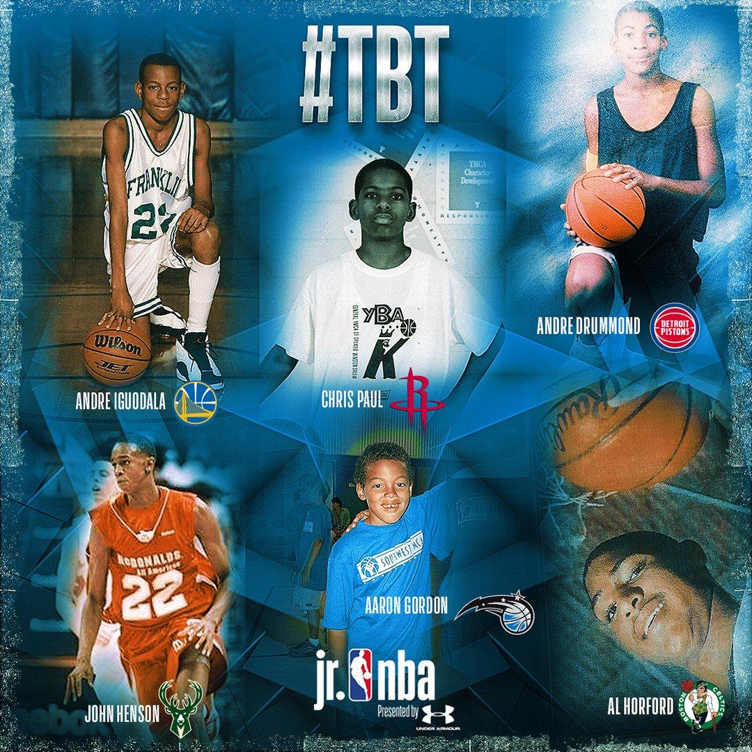 #TBT to their #JrNBA days! #JrNBAWeek https://t.co/EIanHURDtg