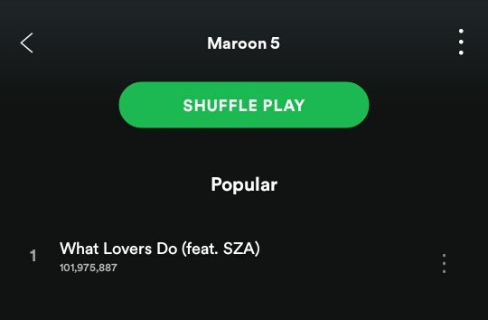 100 MILLION and counting. Thanks to everyone who tuned in to #WhatLoversDo on @Spotify. @sza https://t.co/8l7zhQnRPa
