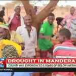 Mandera county has experienced 5 years of below average rainfall