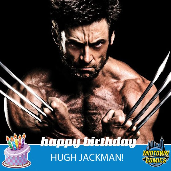 Happy Birthday Hugh Jackman    189cm