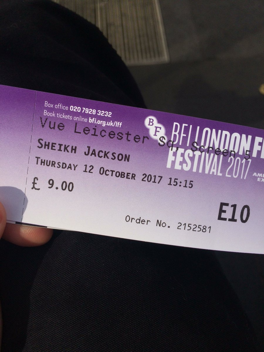 Casting done, now to watch a random movie at London Film Festival in Leicester Sq #LFF https://t.co/uSwgaQZLzu