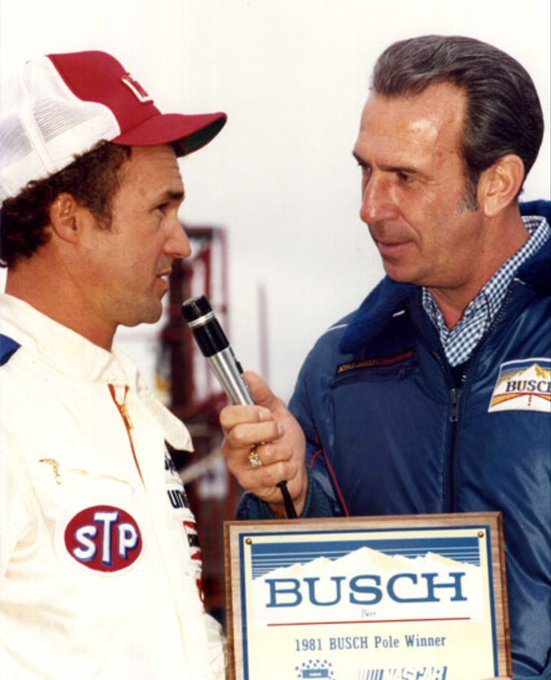 Happy birthday to Morgan Shepherd and Ned Jarrett! Morgan is 76 and Ned is 85.