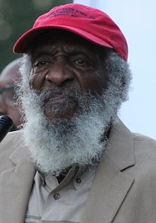 Happy birthday Dick Gregory (b. 1932) comedian and civil rights activist