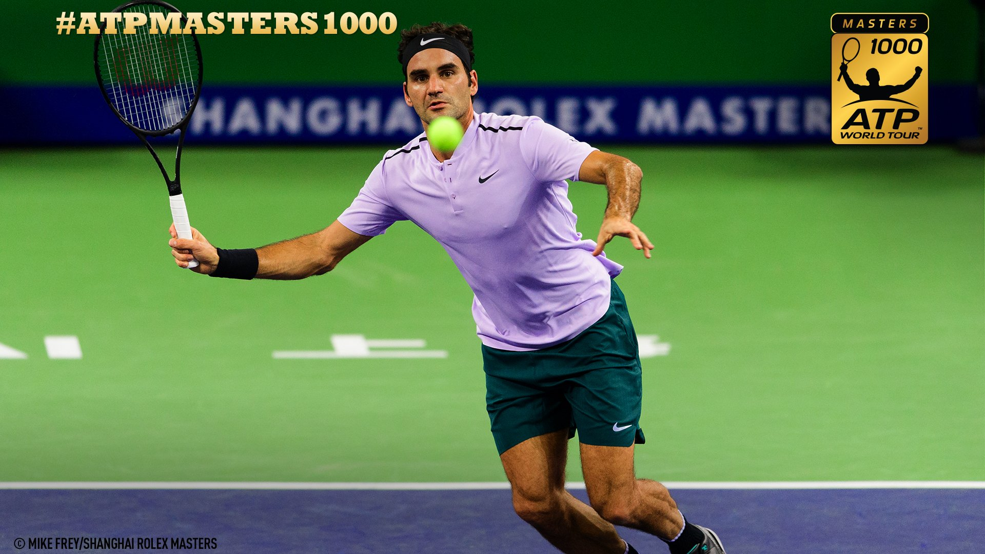 2nd #SHRolexMasters �� in his sights?  Federer sets QF clash with Gasquet ➡️ https://t.co/9XbhWk1jjs https://t.co/5qAIvdIkRS