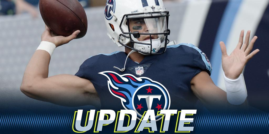 Marcus Mariota (hamstring) hopes to return for #MNF: https://t.co/DBpgCFUWgU #INDvsTEN https://t.co/kvatoyydQA