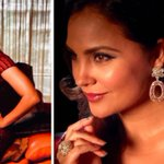 Lara Dutta looks like sparkling red wine in this gorgeous gown at the Miss Diva 2017finale