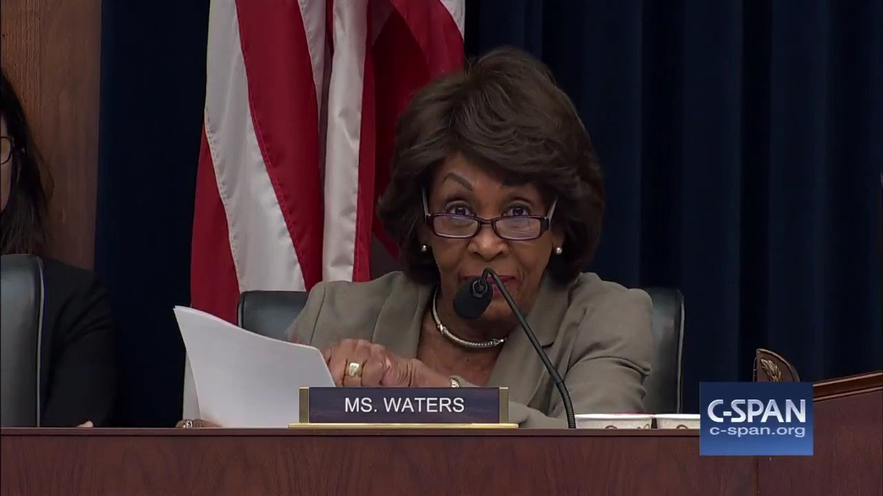 WATCH: Exchange between Rep. @MaxineWaters & @SecretaryCarson on #PuertoRico. https://t.co/ZfiXAt9Ph8