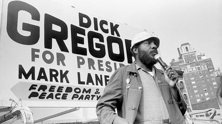 Happy Birthday to civil rights activist, veteran, and political leader Dick Gregory!