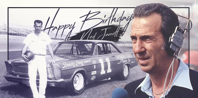 Happy Birthday to member, Ned Jarrett.   to help him celebrate!