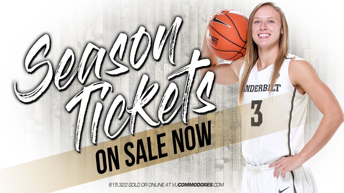 RT @VandyWBB: The season is so close! Have you purchased your season tickets yet? #AnchorDown   https://t.co/xuFGASm7Cj https://t.co/tzfpMN…