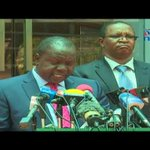 Ag. Interior CS Fred Matiang'i statement on election security and Nasa demos