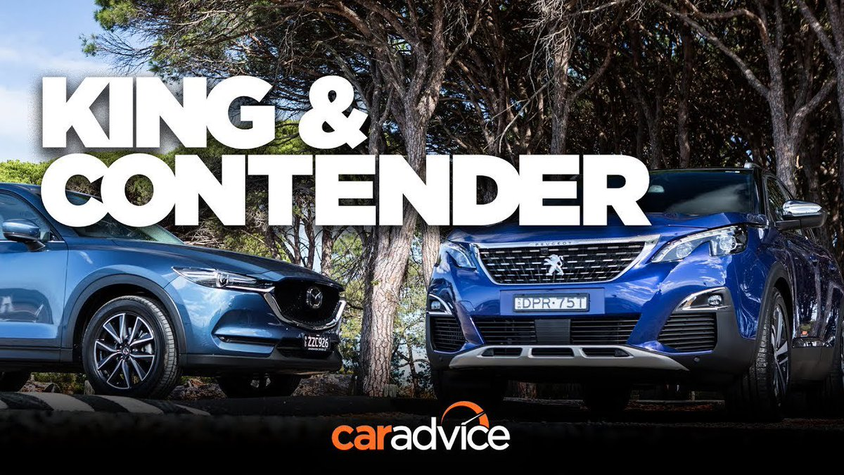 Can Peugeot's new 3008 outdo the popular CX-5? Comparison time! - Dauer: 8 Minuten, 36 Sekunden