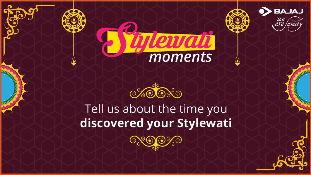 RT @Maninde00805584: something different on this diwali #CelebrateTheStylewati @BajajElectrical https://t.co/9UyX4baKuw