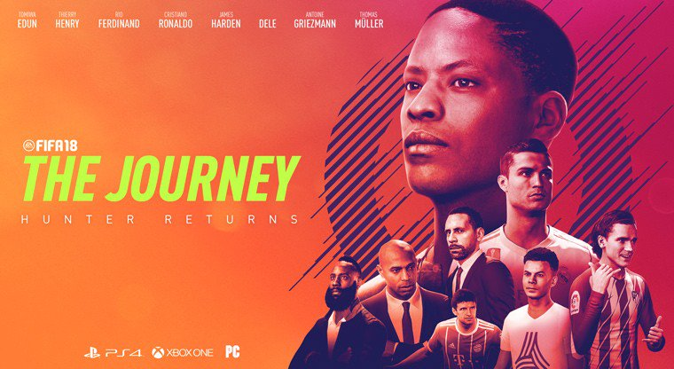 Meet the cast of The Journey: Hunter Returns https://t.co/2y51PZRWE5 #FIFA18 https://t.co/mrArx15k61