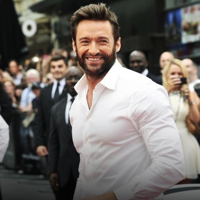 Happy birthday to my favourite man in this world, hugh jackman