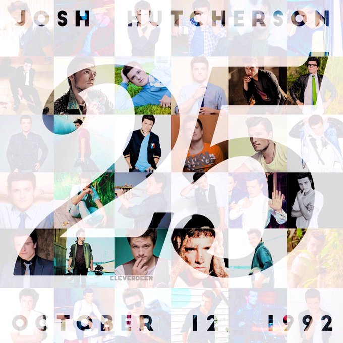 Happy 25th Birthday to our incredible Peeta, Josh Hutcherson!