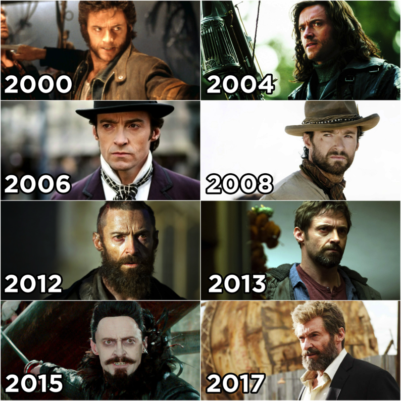 Happy Birthday Logan!  Here\s Hugh Jackman Through the Years