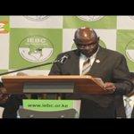 IEBC gazettes results transmission regulations