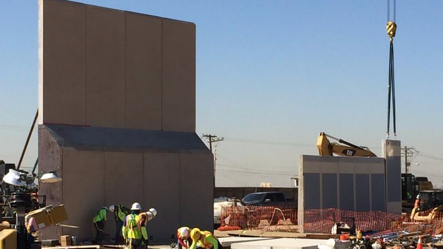 Here's what prototypes of a U.S.-Mexico border wall look like https://t.co/a2MEqdIVjV https://t.co/ux1DiQjd7Z